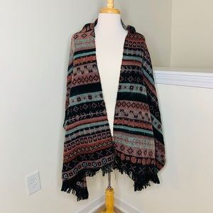 🎉5 for $25🎉 Pancho Blanket Scarf